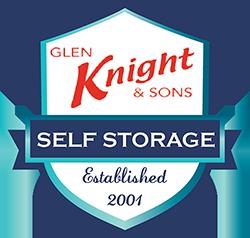 Glen Knight & Sons Storage Logo